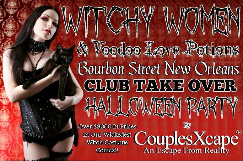 Club Take Over Halloween Party By CouplesXcape®