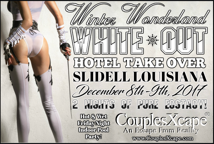 CouplesXcape® Winter Wonderland White-Out