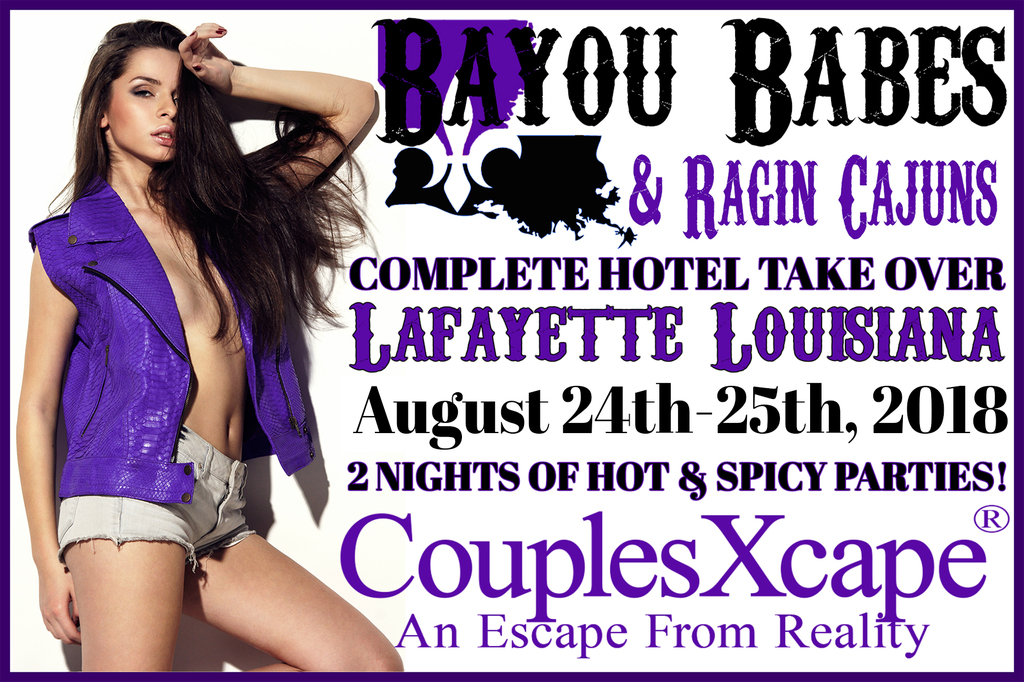 CouplesXcape® Bayou Babes & Ragin Cajuns