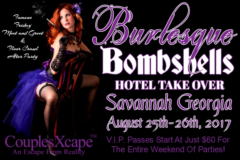 CouplesXcape® Burlesque Bombshells