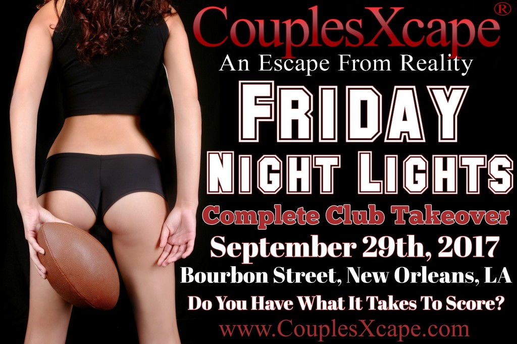 CouplesXcape® Presents Friday Night Lights