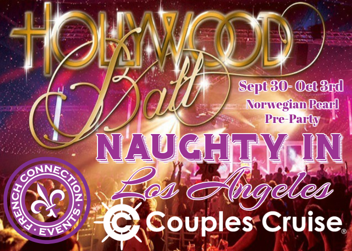 Join CouplesXcape® at Naughty in L.A. 2017