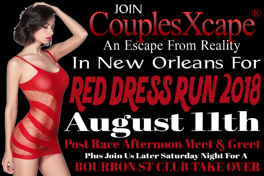 2018 Red Dress Run In New Orleans