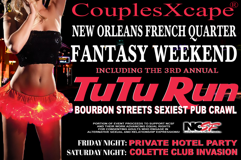 CouplesXcape® French Quarter Fantasy Weekend & Pub Crawl