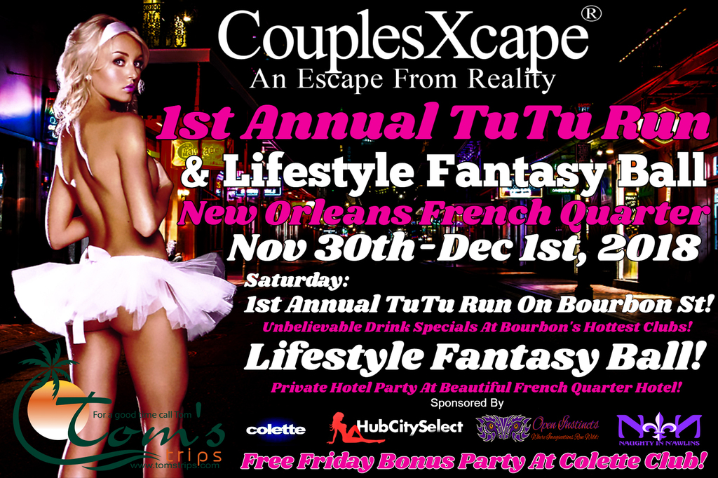 CouplesXcape® 1st Annual Tutu Run & Lifestyle Fantasy Ball